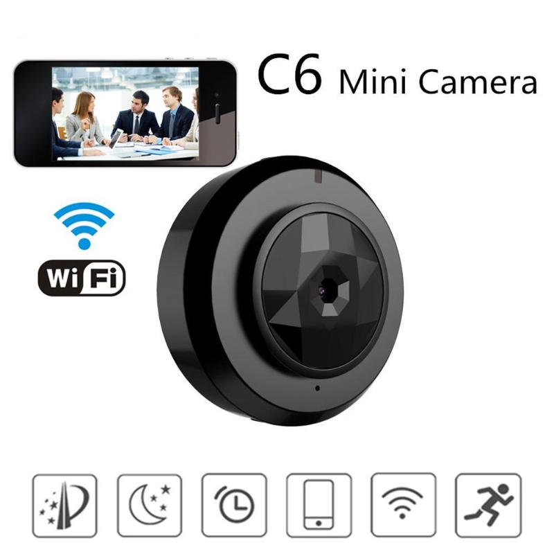 C6 HD 720P Mini P2P Camera Baby Home Security WIFI IP Remote Control By Mobile Phone Motion Sensor Night Vision DVR CamC6 HD 720P Mini P2P Camera Baby Home Security WIFI IP Remote Control By Mobile Phone Motion Sensor Night Vision DVR Cam
