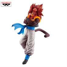 цена на 100% Original Banpresto Son Gokou FES !! vol.7 Collection Figure - Super Saiyan 4 Gogeta from