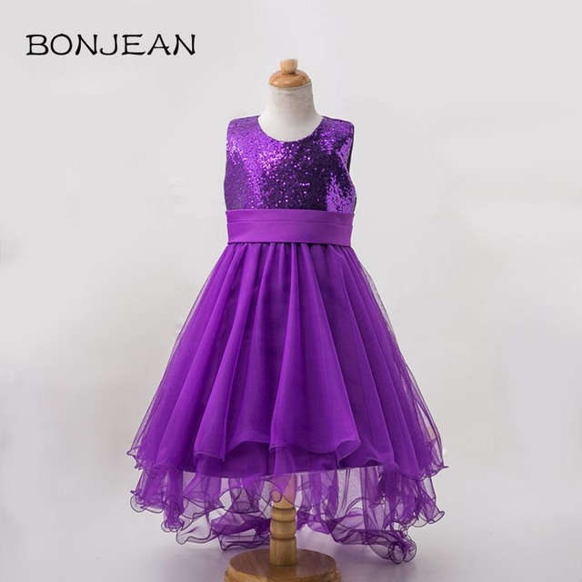 207440411199 Princess Dresses For Girls Wedding Party Wear Tulle Baby Frocks ...