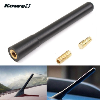 KOWELL 4inch Universal Car Auto Roof Radio Antenna FM/AM Signal Booster Amplifier Aerials Whip Mast for Lada for Volkswagen VW image