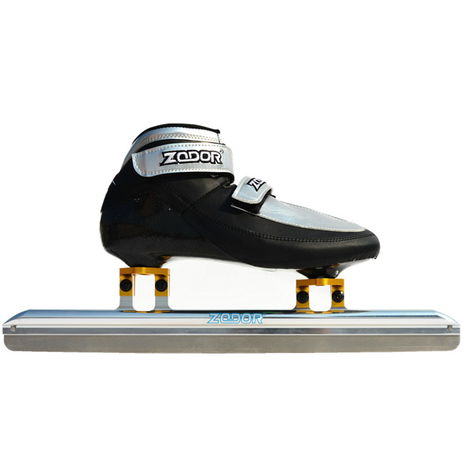 Japy 6 Layers Carbon Fiber Speed Ice Blade Skating Shoes Metal Fix Location Knife Racing Skate Comfortable Patines Sneakers J004