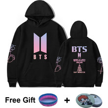 BTS Album LOVE YOURSELF Women Hoodies Sweatshirts K-pop Fans Sweatshirt Streetwear DNA K POP Autumn Winter Clothes Oversized 4XL(China)