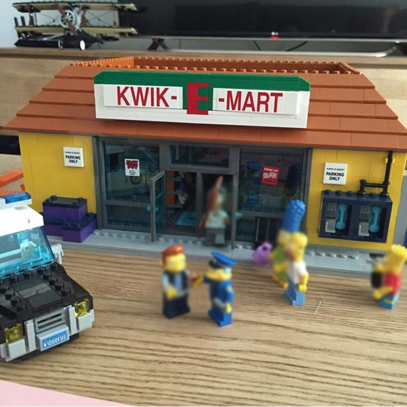 16004 2232 STUKS Compatibel 71016 Simpsons Kwik E Mart Sets Building Kits Actiefiguren Model Bakstenen Blokken Toys voor Kinderen-in Blokken van Speelgoed & Hobbies op  Groep 3