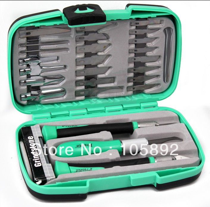 Free Shipping Proskit PD-395A Multifunctional knife woodworking tools Set for carving tools Wood carving tools the knife kit tk free shipping tools diy hobby engraving knife set precision knife wl 9303abs cutte set wood