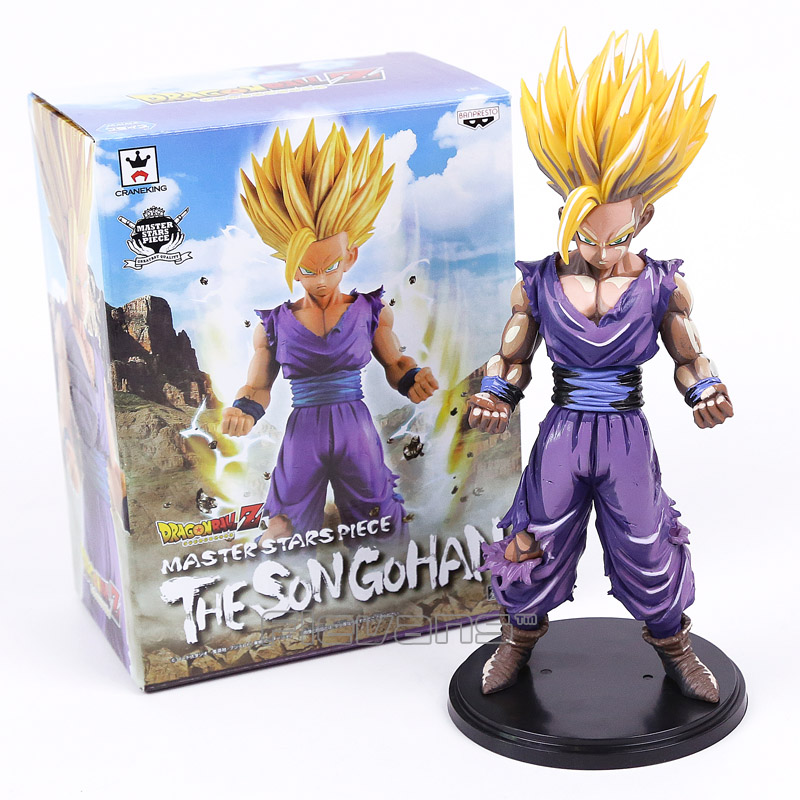 Dragon Ball Z MSP Master Stars Piece The Son Gohan PVC Figure Collectible Model Toy 3 Types 23cm chris wormell george and the dragon