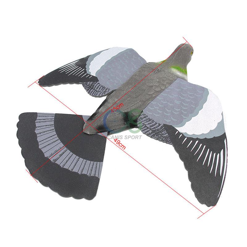тактический военный приманка для охоты Ева стекались голубь охота манок для охоты применение gs38 видеокамера-0016