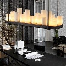 LED Nordic soggiorno apparecchi di illuminazione ristorante lampada a sospensione Industriale retrò loft appeso illuminazione Bar lampade a sospensione