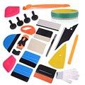 FOSHIO Магнитный скребковый инструмент для упаковки  набор виниловой фольги  пленка для автомобиля  Набор стикеров  5 м  клейкая лента  авто окн...