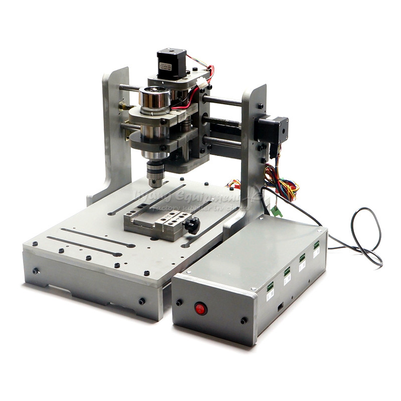 3 Axis 110V/220V CNC Milling Machine With 300W Spindle PCB Drilling Machine for Woodworking3 Axis 110V/220V CNC Milling Machine With 300W Spindle PCB Drilling Machine for Woodworking
