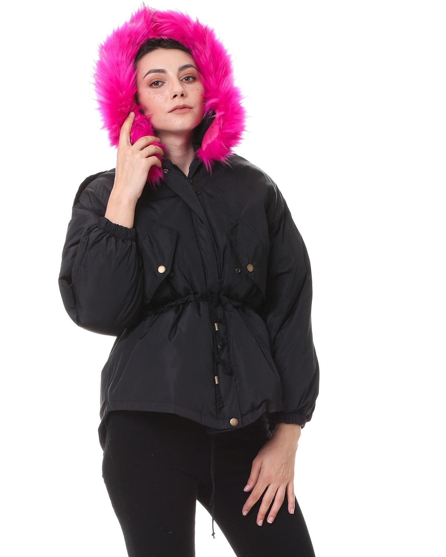 Gamiss invierno mujeres abrigo 2017 Nuevo Parka Casual Outwear militar  capucha de espesamiento de algodón abrigo de invierno chaqueta de piel en  Parkas de ... 6401e3167eaf