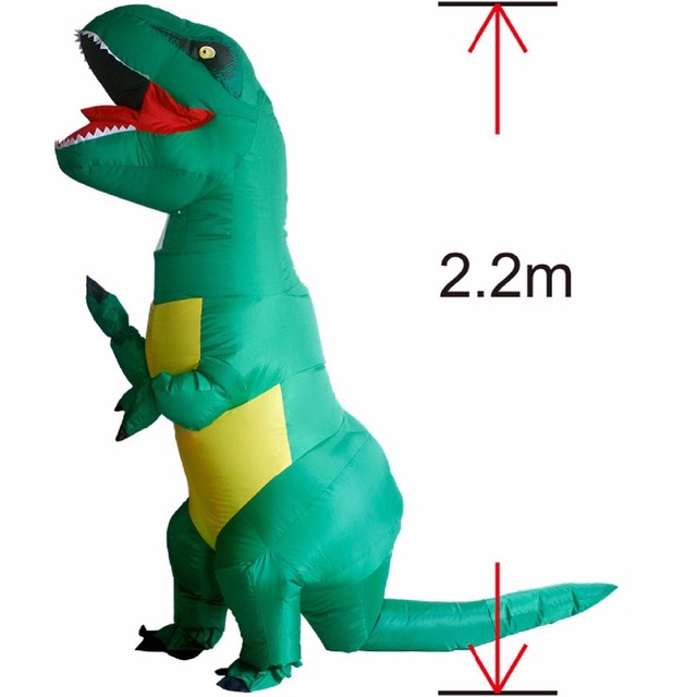 T REX Costume inflatable dinosaur costume For Anime Expo traje de ...