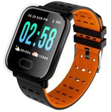 A6 1.3 inch color screen M20 heart rate blood pressure sleep monitoring IP67 waterproof running sports smart watch bracelet