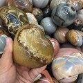 Натуральный цвет океана яшмы в форме сердца кварцевые кристаллы сердце для продажи