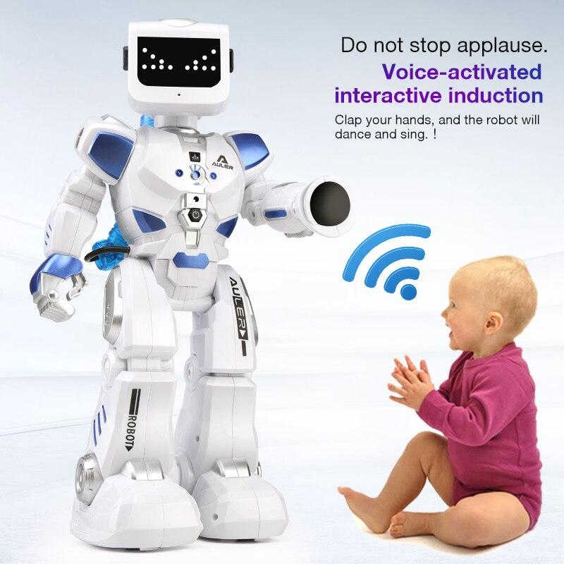 Robot Hydro Hybride Télécommande Danse Commande Vocale Dialogue Programmation Économie D'énergie Mécanique Éducatifs Enfant Fille Garçon Jouet