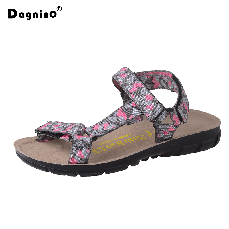 DAGNINO 2018 Designer Flat Beach Shoes Women Summer Platform Sandals Ladies Canvas Casual Drive Shoes Sandalias Zapatos Mujer summer sandals women clogs beach slipper women shoes casual sneakers women flats sandals ladies shoes zapatos mujer