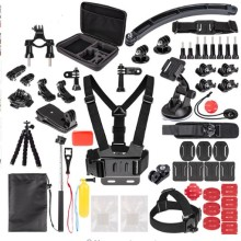 for Gopro Accessories Kit HD Go Pro HERO 6 5 4 3 2 1 & SJ4000/SJ5000//SJ6000/SJCAM Xiao mi Yi 4K/M20 4K/ APEMAN