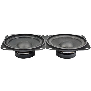 Image 5 - AIYIMA 2Pcs 4Inch 2Ohm 10W Portable Audio Speaker Subwoofer DIY Home Theater Sound System For Bluetooth Speaker Loudspeaker