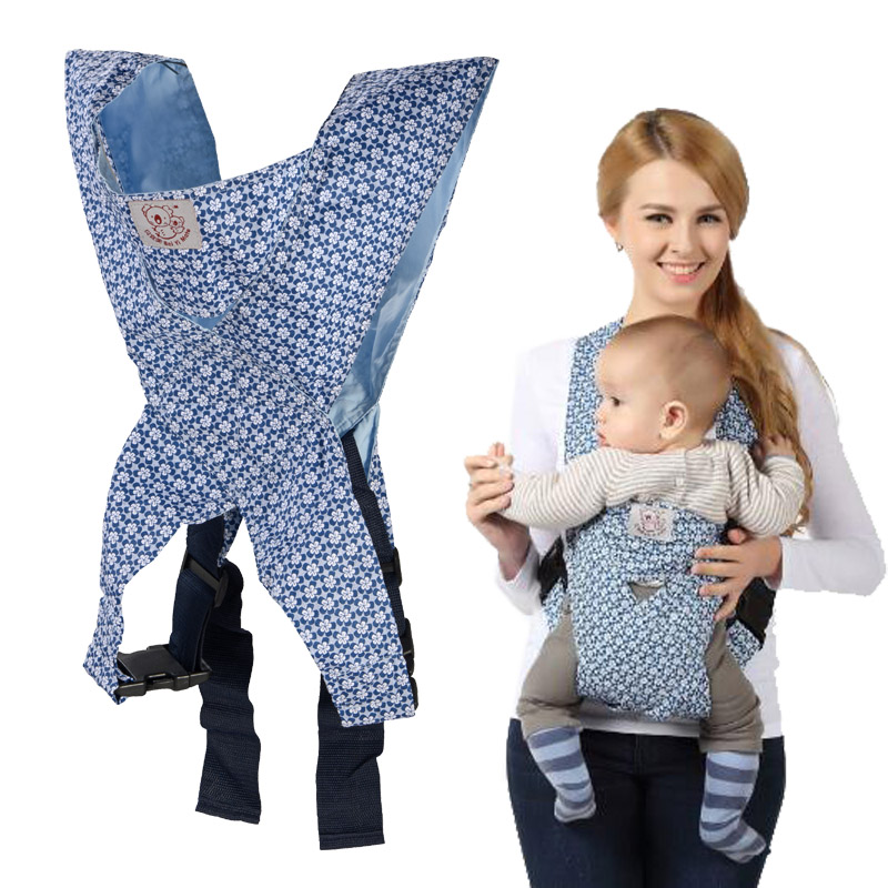 High Quality 4 Designs Baby Carrier Minizone Fashion Pattern Design Baby Sling Ergonomic Baby Carrier For 0-3 Y Infant Last Style