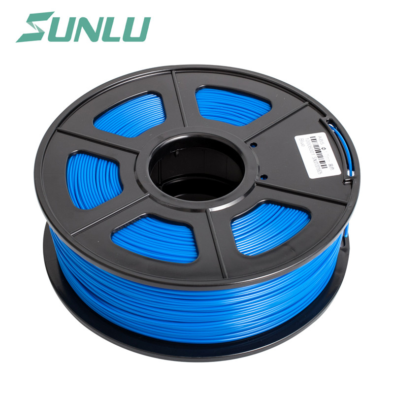 3d imprimante filament nouveau bateau libre SUNLU PLA 3D Filament 1 kg/Bobine 2.2LB PLA En Plastique Matériel 3D Imprimante filament Noir Couleur