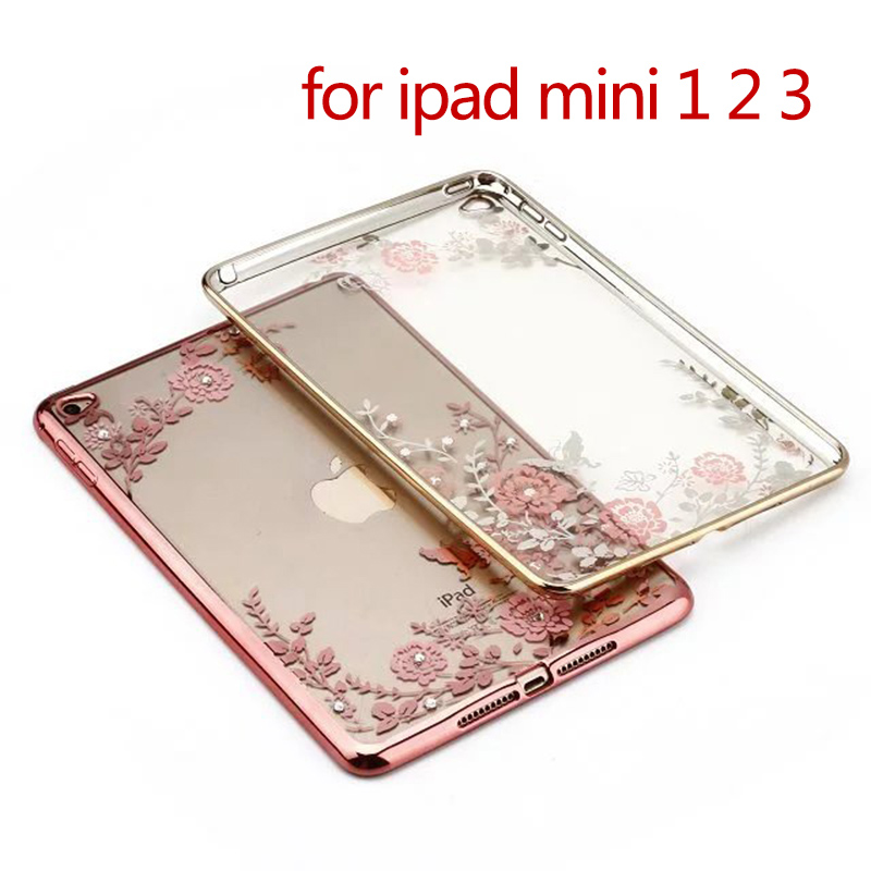 Secret Garden Soft Silicone Gel Rubber TPU Skin Case Cover For Apple iPad mini 1 2 3 Tablets Accessories For ipad mini case kids