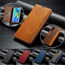 Luxury Business Magnetic Flip Wallet Leather Case for Huawei P30 Pro P30 Lite Mate 20 Pro Mate 20 Lite P20 Pro P20 Lite Cover oregon 160sxea041 pro lite