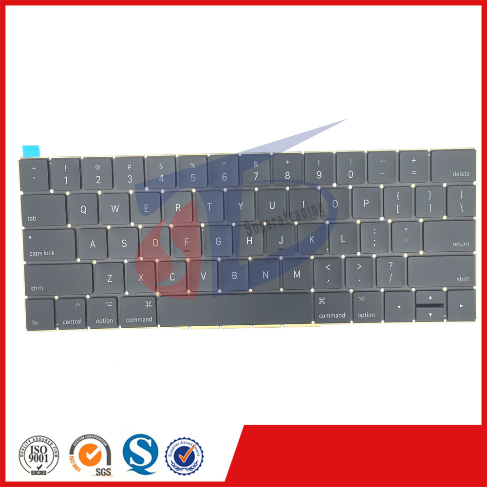 NEW for macbook pro retina 13'' A1706 us usa small enter keyboard 2016year new original laptop a1706 us keyboards for macbook pro retina 13 inch a1706 keyboard 2016 year replacement