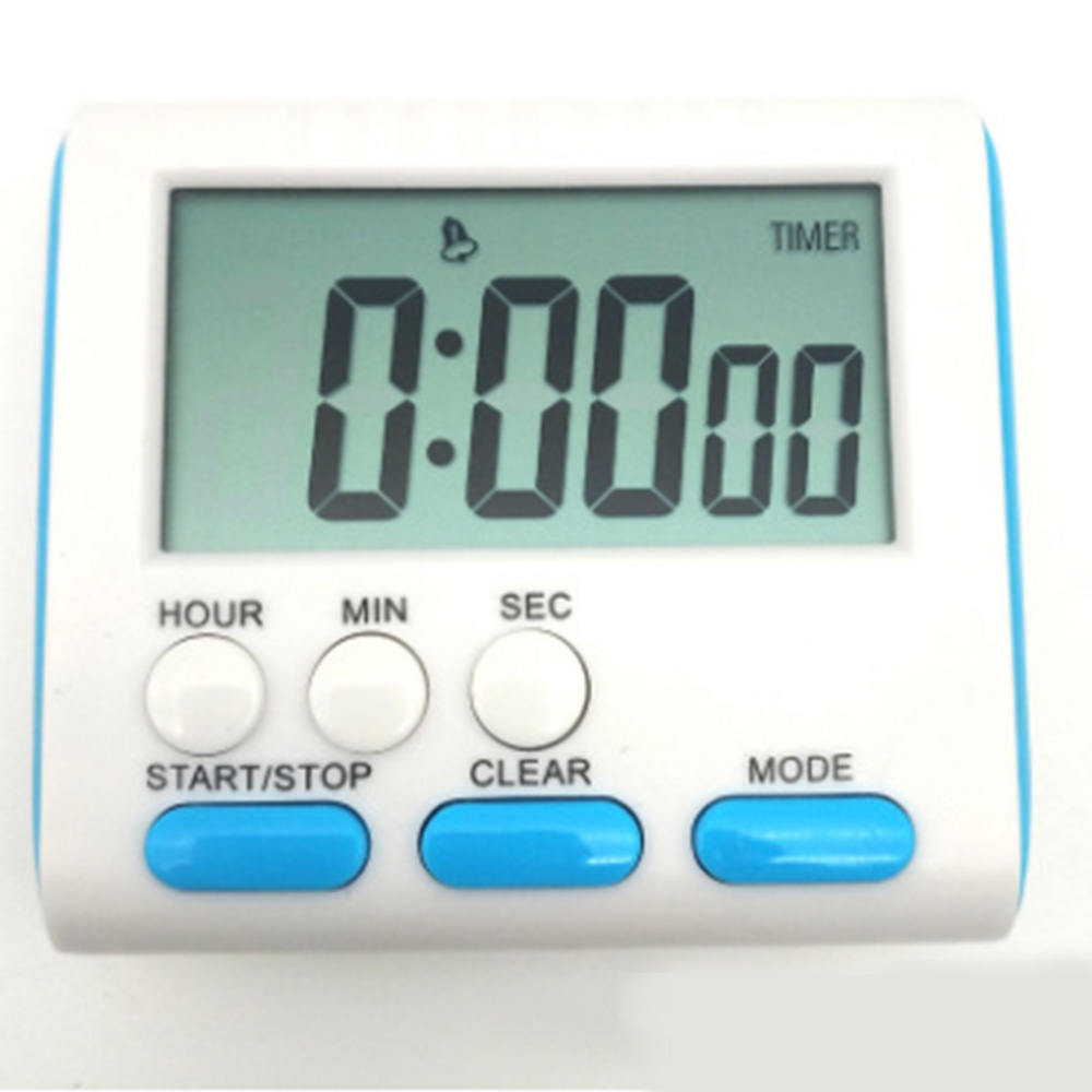 Alarm Clock Magnetic LCD Count Up Down Kitchen Timer Digital Cooking Tools