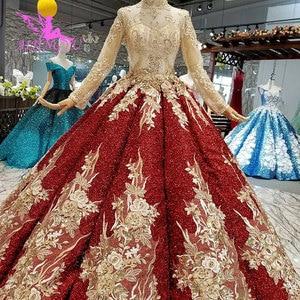 Image 5 - AIJINGYU Lange Schwanz Hochzeit Kleid Casual Kleid Indien Türkei Mit Rüschen Rustikalen Bräute Alle Kleider Hochzeit Kleider