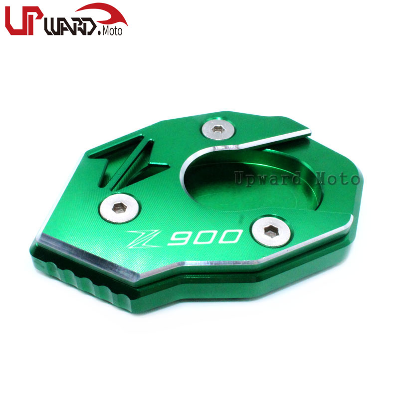 For <font><b>KAWASAKI</b></font> Z900 <font><b>Z</b></font> <font><b>900</b></font> <font><b>2017</b></font> 2018 2019 Motorcycle Kickstand Foot Side Stand Extension Pad Support Plate image