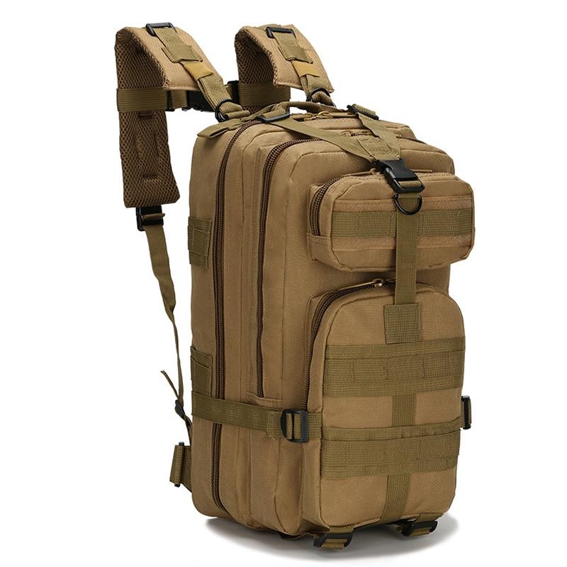 30L Uomini/Donne Sport Bag Escursionismo Sacchetto di Campeggio Viaggio Trekking Sacchetto Tattico Militare del Camuffamento Zaino Zaini