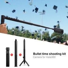 Ручной селфи палка и Ручка монопод 1/4 винт для Insta360 Paranomic камеры для Insta360 ONE X VR Спортивная камера insta360 o