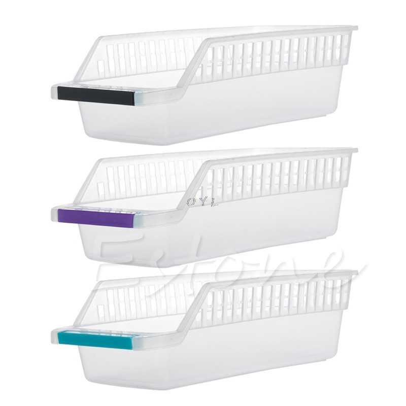 Caixa de Coleta de armazenamento Cesta Cozinha Geladeira Frutas Organizador Titular Rack de Peças de Geladeira