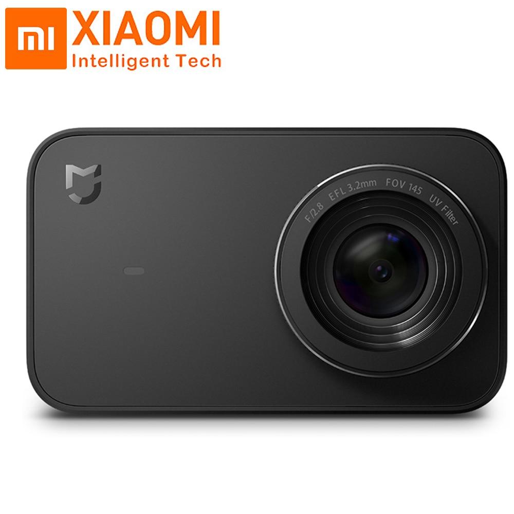 Xiao mi mi jia mi ni 4 k caméra d'action et vidéo caméra Sport 145 Angle 2.4