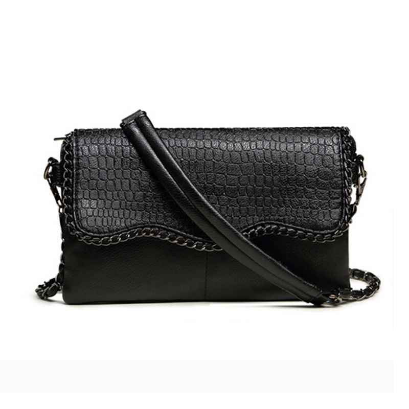 Female Handbag Designers Fashion Vintage Bags Women Shoulder Crocodile Small Messenger Bag Crossbody Envelope