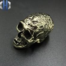 Pure Copper Skull Small Ornaments Brass Solid Retro Decoration Gift Processing