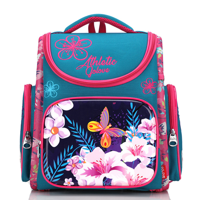 4eb51262c996 New Orthopedic School Backpacks For Girls Cartoon 3D Backpack Primary School  Bags Child Knapsack Kids Book