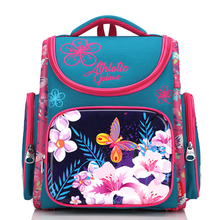 Новые ортопедические школьные рюкзаки для девочек мультфильм 3D рюкзак начальная школа сумки детский рюкзак Детская Книга сумка Mochila Escolar