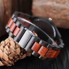 Luxury Gift Full Wooden Watches Man Creative Sport Bracelet Analog Nature Bamboo Quartz Wristwatch Male Clock Relogio Masculino