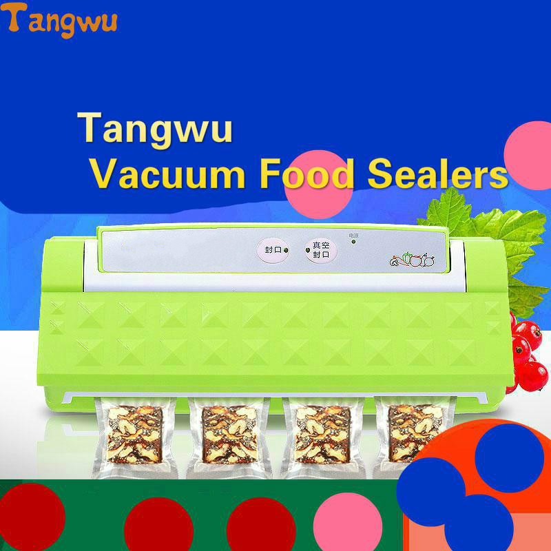 Free shipping Commercial food vacuum packing machine, automatic sealing machine household plastic packaging free shipping full automatic vacuum packaging machine and household food machine small commercial vacuum sealing machine