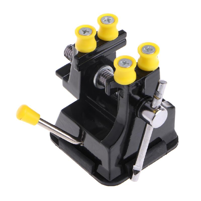 New Mini Osculum Type Bench Clamp On Table Woodworking Vise Fixed Repair Hand Tool Jewelry Tools