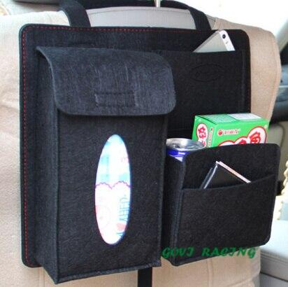 almacenamiento de la red del coche asiento trasero Organizador - Accesorios de interior de coche