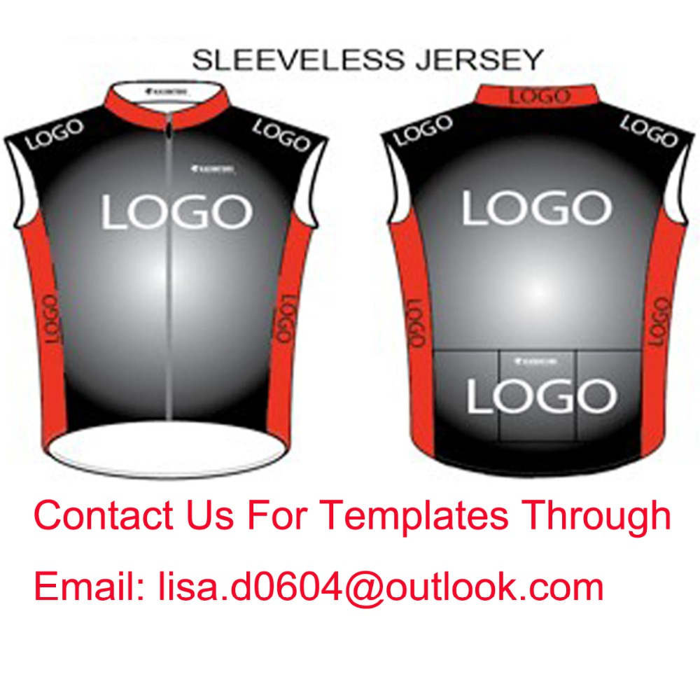 Custom Cycling Vest Sleeveless Jersey Bike Gilets Windproof Customize High Quality Lightly