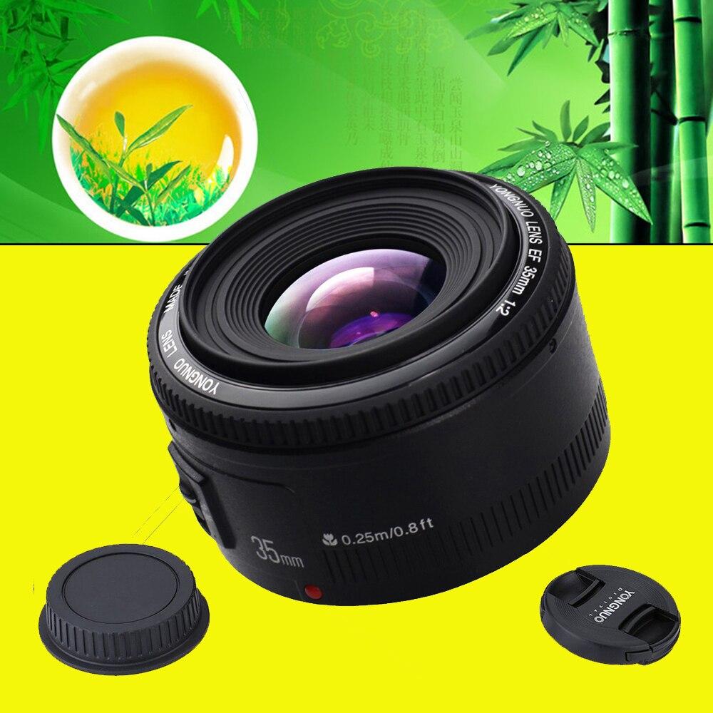 YONGNUO YN35mm YONGNUO 35mm F/2 Lens Wide-angle Large Aperture Fixed Auto Focus Lens For Canon 6d 60d 5d3 550d 1100d 650D Camera original yongnuo camera lens 35mm f2 for nikon large aperture auto focus lens for nikon 7000 d5100 d5000 d3100 d3000 d60