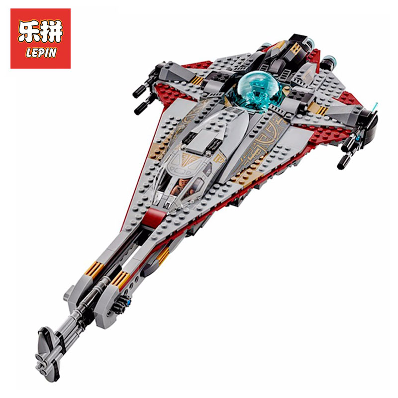 Lepin 05113 Star Wars Genuine Stunning The Arrowhead Children Educational Model Building Blocks Bricks Toys Gift LegoINGly 75186 lepin 21012 builder the beatles yellow submarine with 21306 building blocks bricks policeman toys children educational gift toys