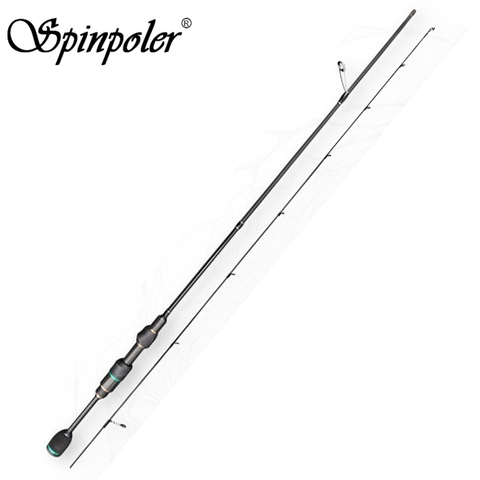 Cheap Sale 1.5m 1.68m 1.8m Super Light Spinning Rod Ultralight Solid Top Spin Fishing Rod 0.5-8g Lure Weight Super Power Pole Pakistan
