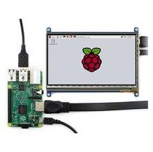 7inch HDMI LCD Raspberry Pi 1024*600 Capacitive Touch Screen Display Beaglebone Black Banana Pi/Pro Supports Various System