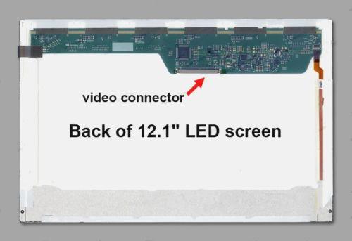 LCD Screen 12.1 inch For Lenovo Thinkpad X200 X201i Laptop Display 42T0711 WXGA 30Pins