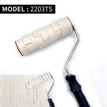 Декоративный ролик для краски инструмент нанесения на стену