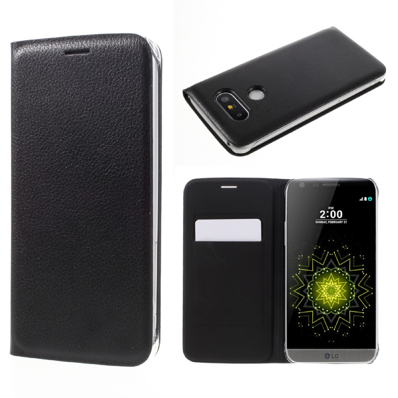 LG5 / G5SE غطاء واقي بي يو جلدي لاجهزة 1