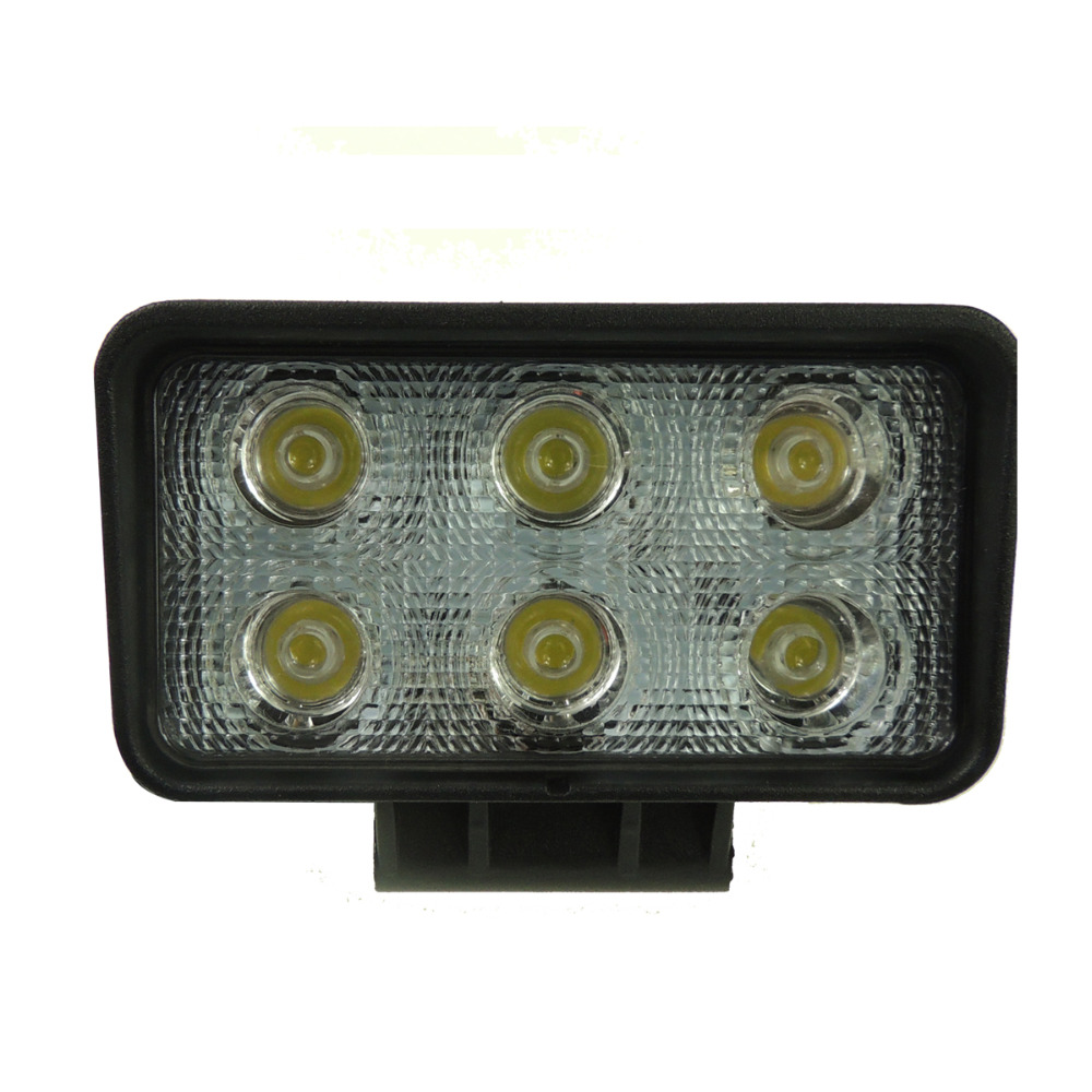 18W 6X3W Car LED work light bar as Flood lamp for Indicators Motorcycle Driving Offroad Boat Car Tractor Truck 4x4 SUV ATV 12V